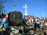 The Last Station of the Way of the Cross at the top of Krizevac