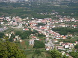 Looking at the Medjugorje from Krizevac