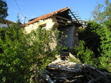 Broken building in Medjugorje
