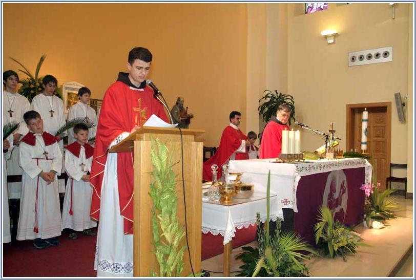 Celebration of Palm Sunday and Easter 2007 in Medjugorje