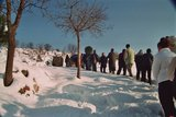 Parishioners on Podbrdo, February 2005