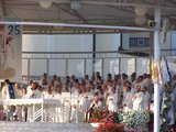 Priests on main Holy Mass, 25th Anniversary